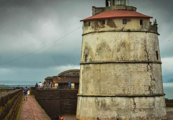 Take a trip to golden days in Aguada Fort