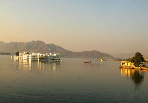 You won't be able to escape the charm of this Lake Palace