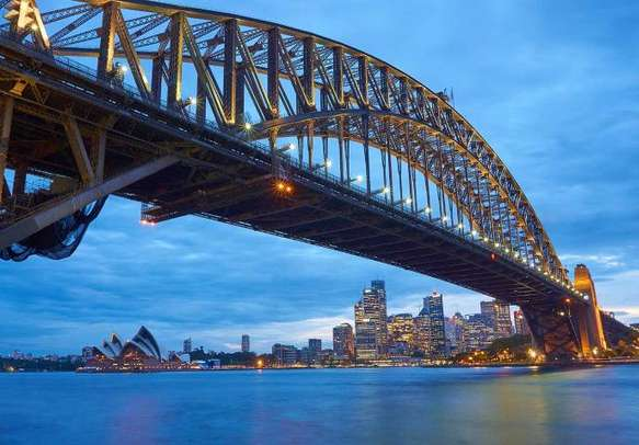 The Opera House in Sydney is a major tourist attraction.