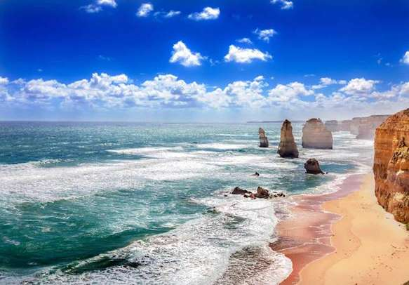 Enjoy the scenic attractions along the Great Ocean Road.
