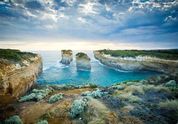 Enjoy the scenic sights at the Port Campbell National Park on your Australia holiday.