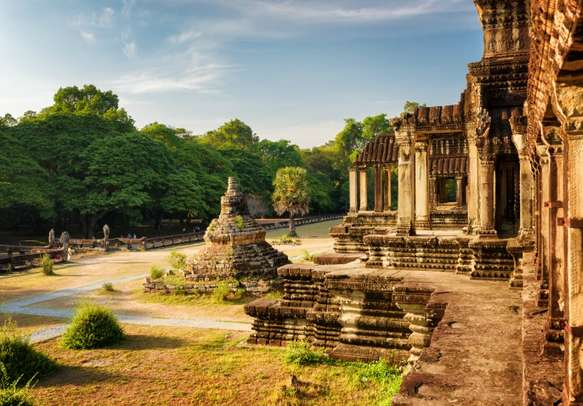 Witness the crowned jewel of Cambodia - Angkor Wat