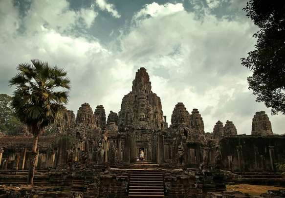 A mesmerizing view of Angkor Wat