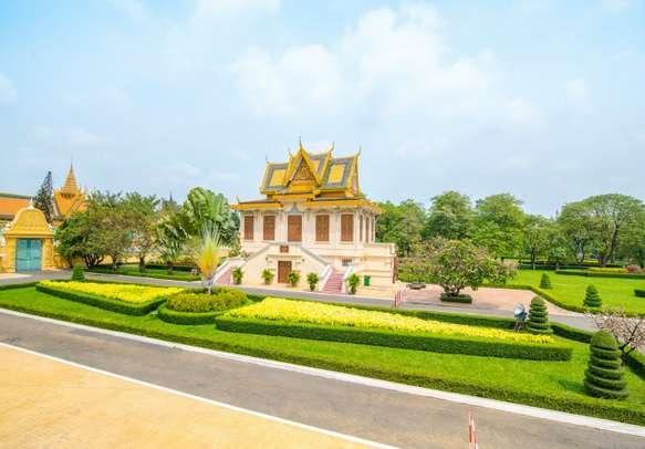 The enchanting Royal Palace