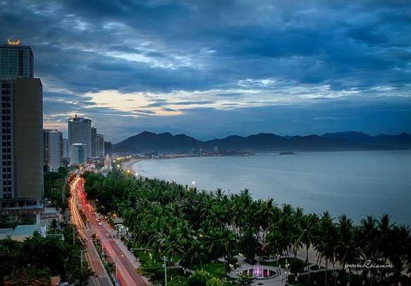 The beautiful City Of Nha Trang