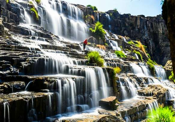 The soothing Dalat Pongour Waterfall