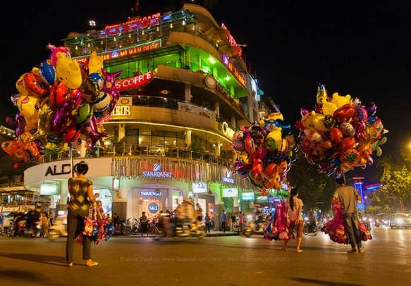 The Old Quarter in Hanoi