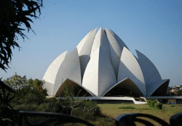 Feel the peace at Bahai Temple of Delhi
