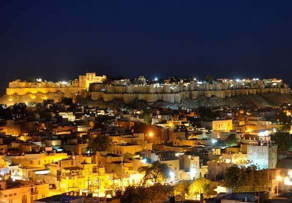 The beautiful city of Jaisalmer
