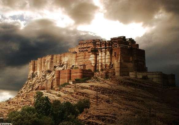Marvel at the grandeur of the Rajputana