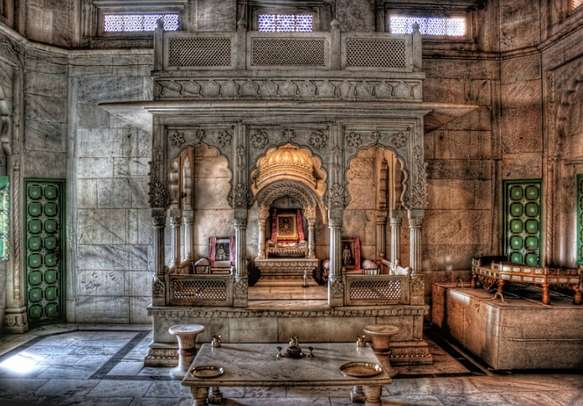 The sacred place of the Rajputs where the wishes are believed to come true