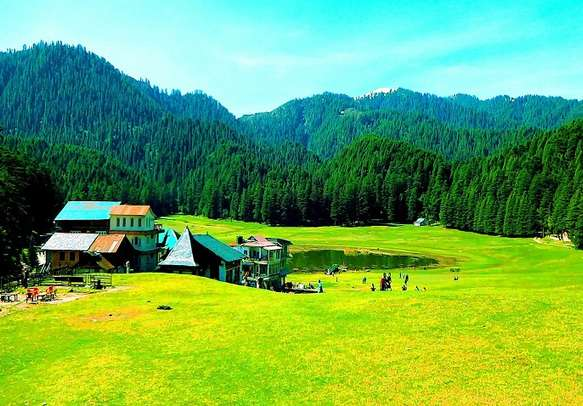 Khajjiar in Himachal.