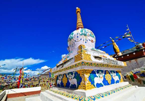 Explore the doctrines of Buddhism at the Tibetan Monastery in Manali