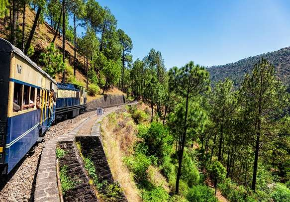 Toy train in Shimla.