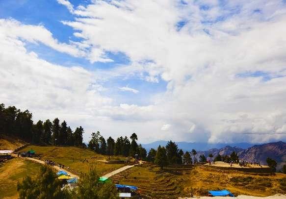 Kufri in Himachal.