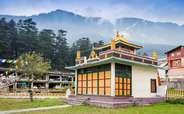 Tibetian Monastery in Manali.