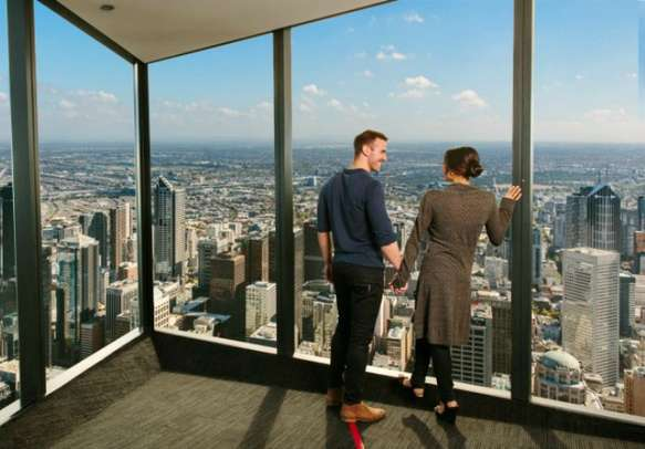 Enjoy the view from SKytower deck
