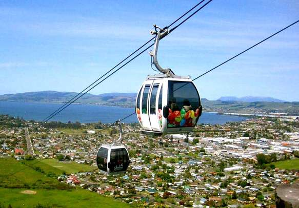 Enjoy a Gondola ride and the toy town view of Queenstown.