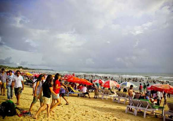 Experience the exhilarating and electrifying nightlife at Baga Beach in Goa