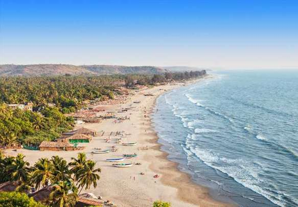 Pristine and sandy beaches of Goa welcomes you