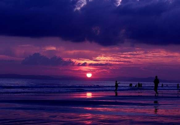 Romantic moments on Radhanagar Beach.