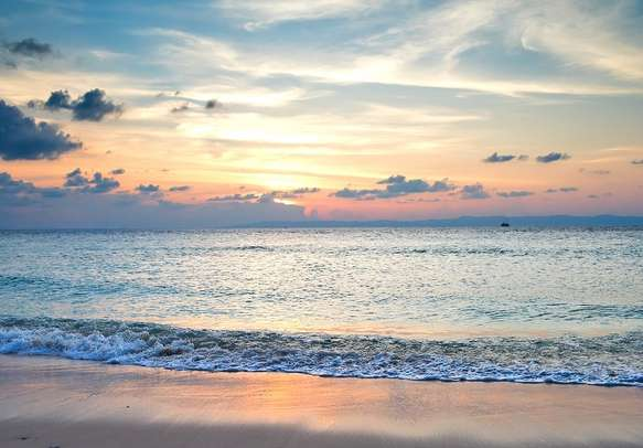 Sunset at Andaman Islands.