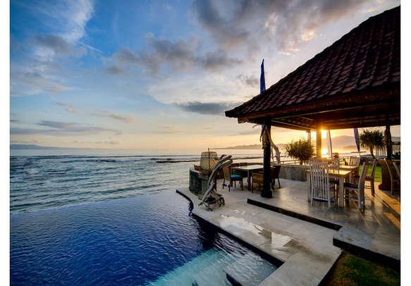 The mesmerizing Bali sunset