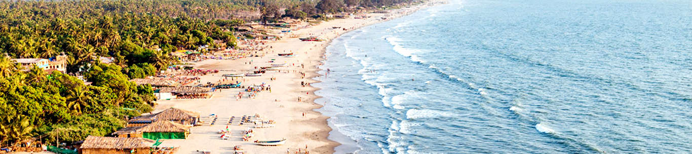 Customize tour packages to Goa for a fun filled holiday