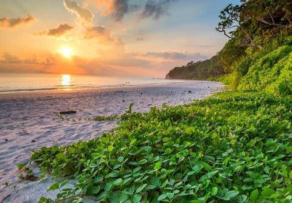 A beautiful morning at Andaman Island