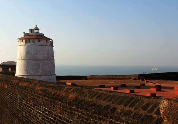 Visit the exciting Aguada Fort
