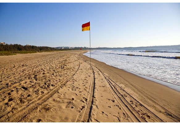 The pristine beaches of Goa beckon