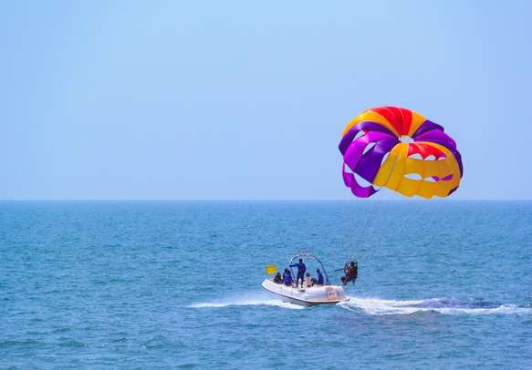 Feel the adrenaline rush on your Goa trip