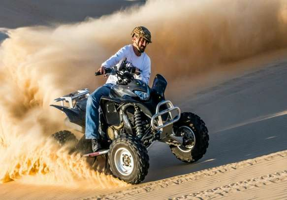 The desert safari pumps up your adrenaline and is an experience to remember.