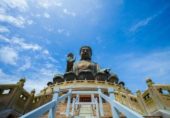 Witness the popular Big Buddha statue on your visit to Lantau Island