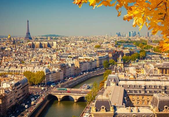 Enjoy being in the city of love