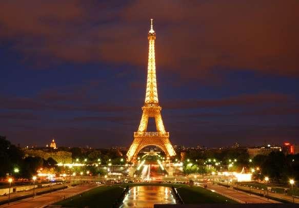 Feel the Parisian romance at Eiffel Tower