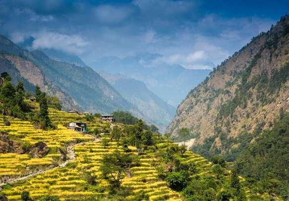Enjoy beautiful views in Darjeeling