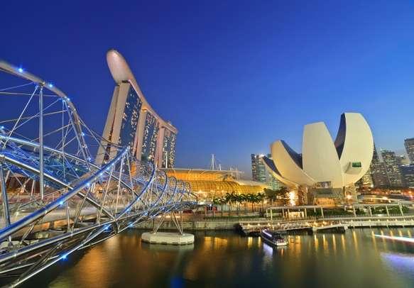 Enjoy the view at Marina Bay Singapore