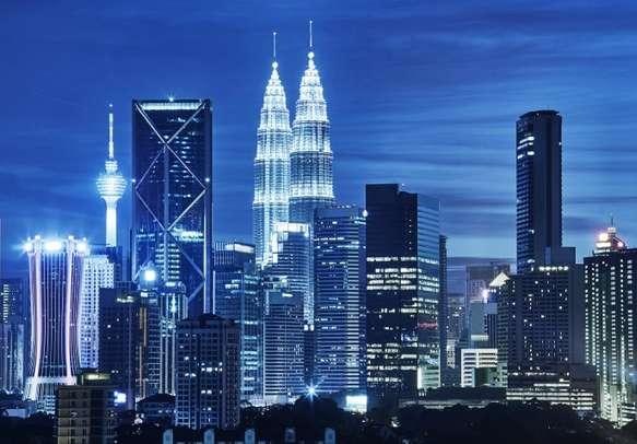 Memerizing Skyline of Kuala Lumpur during night