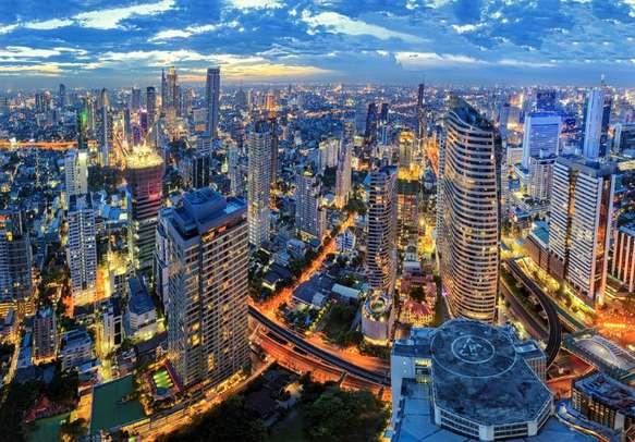 Witness the beauty of Bangkok's skyline