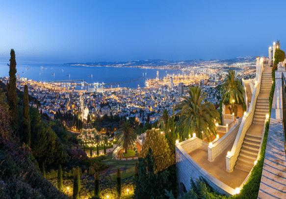 A view worth a thousand words at Haifa Bay