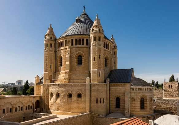 Experience the ancient architectural marvel at the Tomb of King David