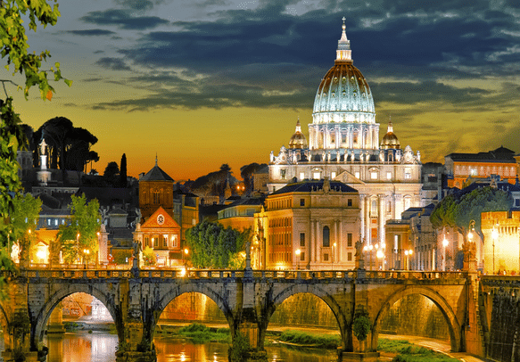 Make your honeymoon blissful by visiting this Cathedral in Rome