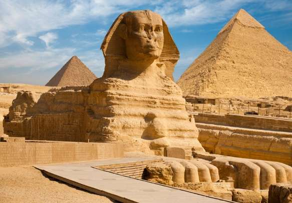 Marvel at the mystical pyramids of Egypt during your trip