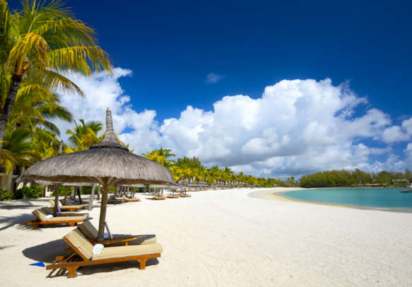 Soak up the rays at a secluded beach