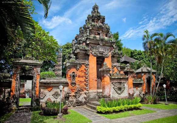 Delight in the age old items at this museum in Bali