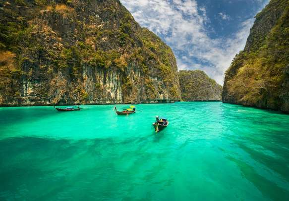 Kayak and unearth the mystical limestone caves on Lao Liang Islands