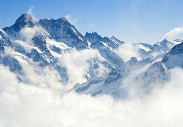 You would not be able to escape the beauty of Jungfraujoch