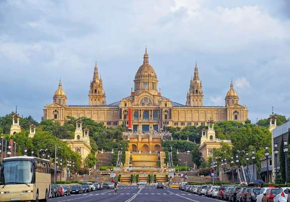 Visit the National Palace in Barcelona.