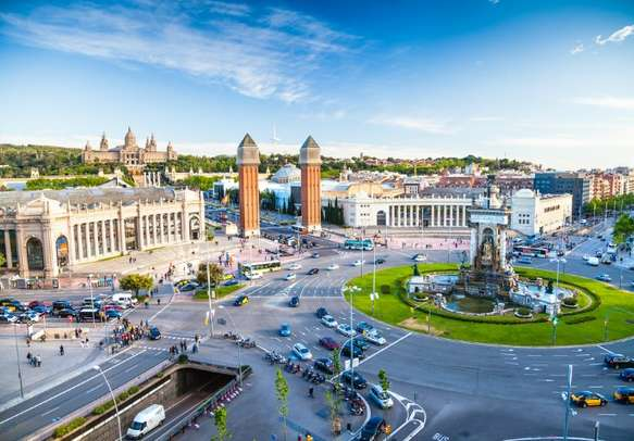 Explore the major attractions of Spain.